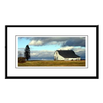 PT Barn Small Framed Print