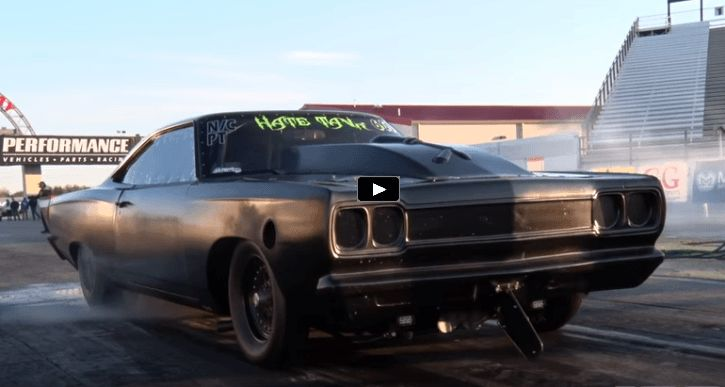 Watch the menacing 1969 Plymouth Road Runner a.k.a hate Tank destroying the competition in the small tire class!