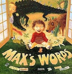 Challenge your students to make words and sentences just like Max!: Kate Banks, Language Art, Max Words, Great Book, Children Book, Collection Stamps, Mentor Texts, Kid, Pictures Book