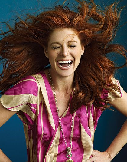 Debra Messing- Love the red and how fabulous she is in SMASH!