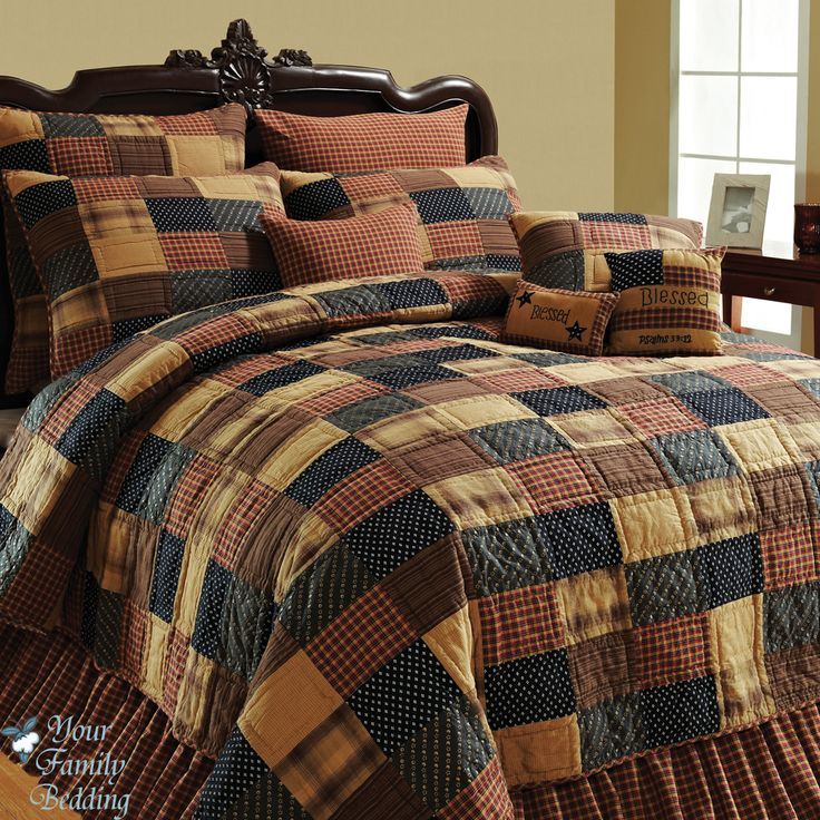 Details About Twin Full Queen Or King Quilt Patchwork