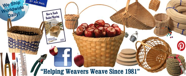 Wood Basket Weaving Supplies : Images about basket weaving on pine