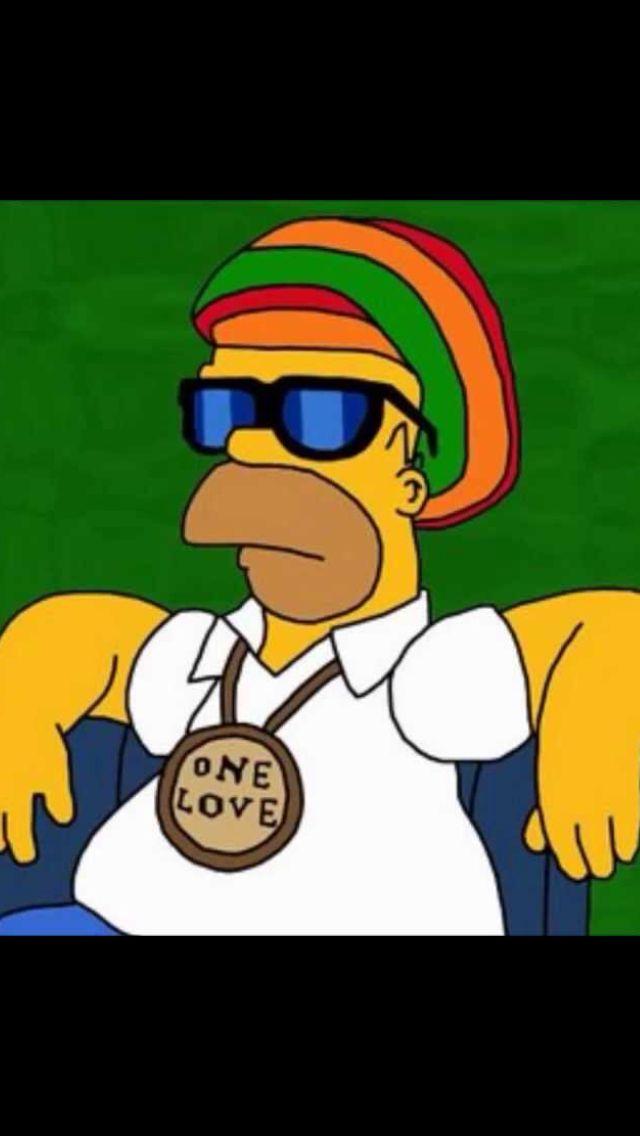 Pin by John Simeon on Bob music   Homer simpson, Reggae ...