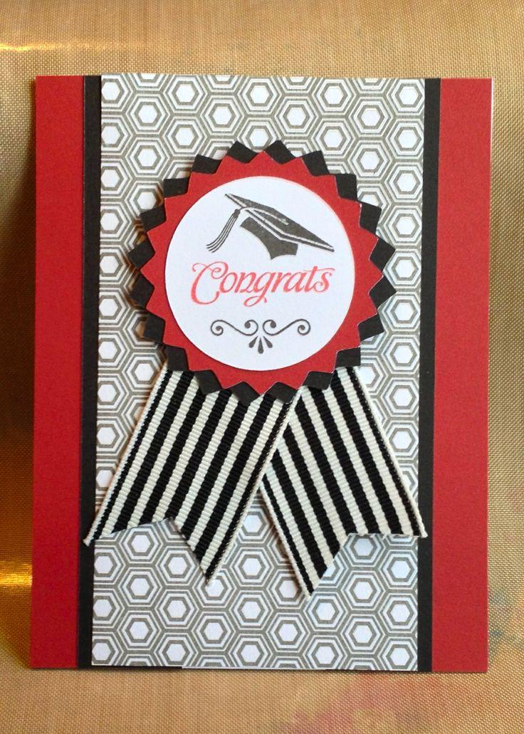 CTMH, Graduation card using Paper Fundamentals