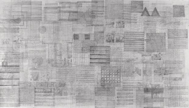 Agnes Martin pure abstraction drawings