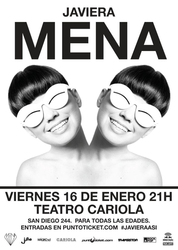 """Javiera Mena inicia gira de """"Otra era"""" con show en Teatro Cariola"""