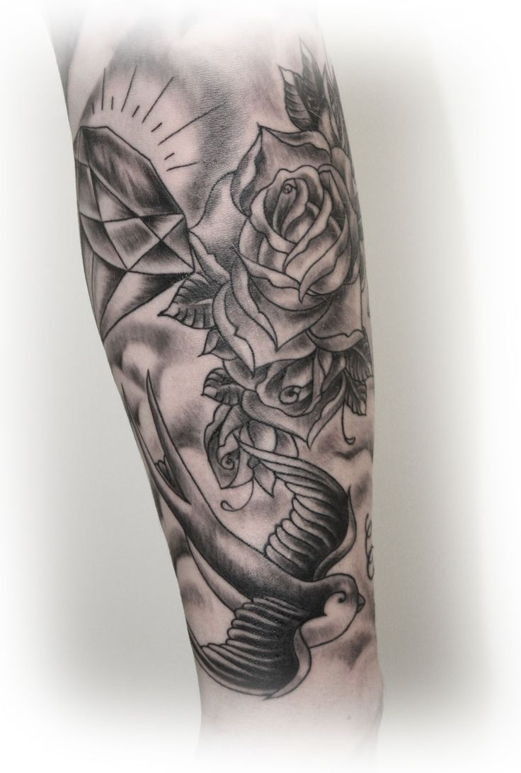 As 22 melhores imagens em old school sleeve tattoos no for Old school tattoo sleeve