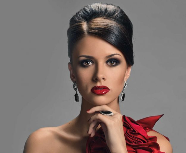Броский вечерний макияж ::: onelady.ru ::: #makeup #eyes #eyemakeup