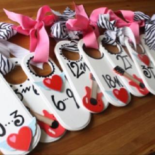 Organize your nursery! www.veronicasclosetcreations.blogspot.com