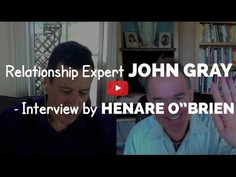 The world's leading relationship expert & author of Men Are From Mars, Women Are From Venus, John Gray, talks indepth about intimate relationships and how to more powerfully navigate them for deeper communication and intimacy..  Interviewee: Henare O'Brien  www.HenareAndKate.com  www.KateMareeOBrien.com