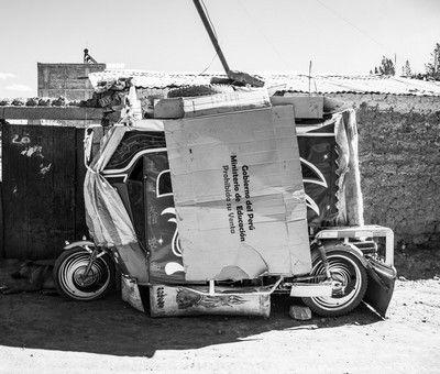 #photo de Charlotte #Carcenac sur les abris de fortune des #SDF