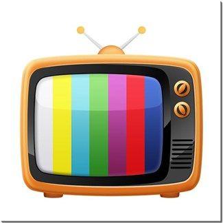 Renkli Televizyon Kendin Tasarla - HDF Magnet 8x8cm