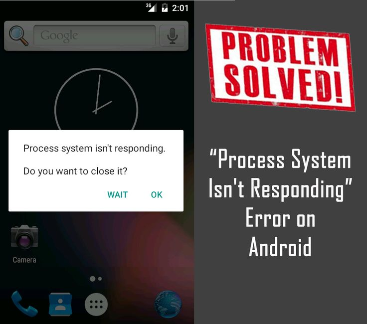 "Learn How to Fix ""Process #System Isn't Responding"" #Error on #Android. 1 – Free up #internal and SD card memory storage. 2 - Restart your device. 3 – Update #apps and system software & more."
