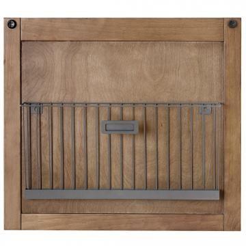 Soren 2-Tier Basket Panel - Metal Wall Baskets - Hanging Baskets - Wall Organizer System | HomeDecorators.com