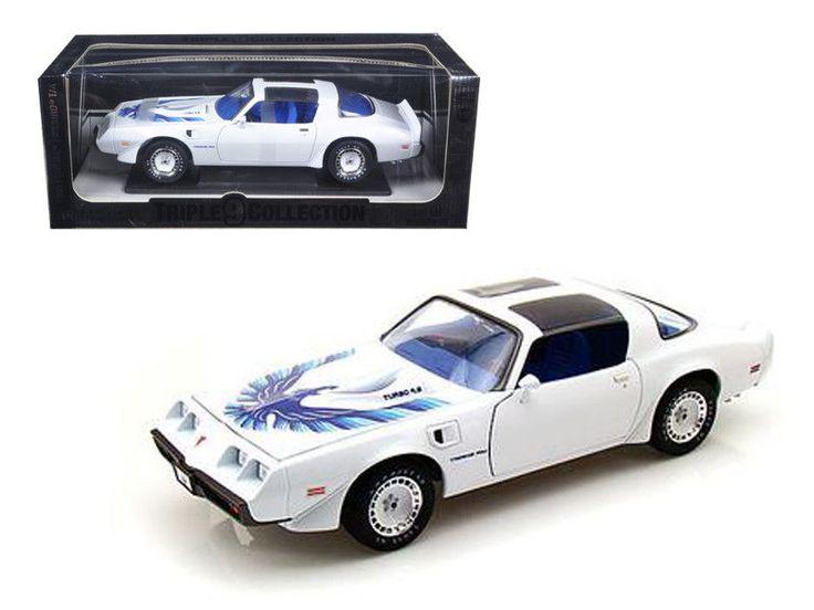 Greenlight 1980 Pontiac Firebird Trans Am Triple 9 1:18 Diecast Model Car #Greenlight #PONTIAC