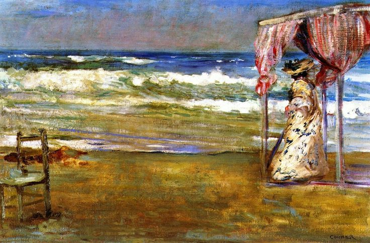 The Solitary Shore - Charles Conder