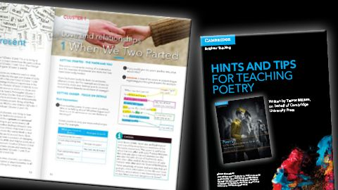 Complimentary Poetry teaching resources: View & download Unit 1 of our Student Book, and our 'Handy Hints & Tips for Teaching Poetry'.