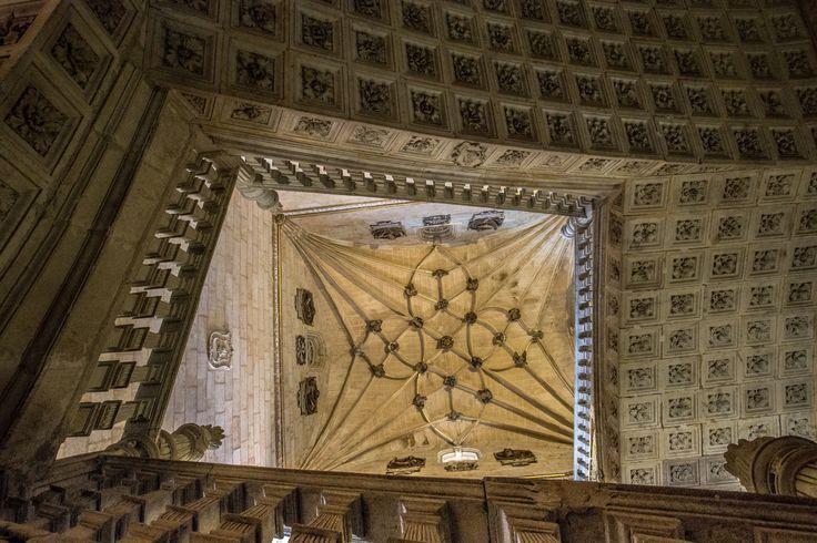 In the Salamanca - Salamanca on of few churches there to visit, nice interiors. Convento de San Esteban to be exact