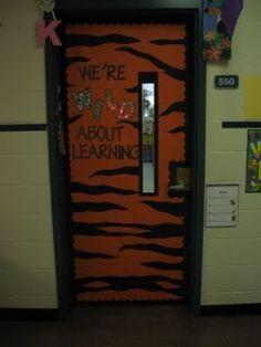 Classroom Door Decorations Classroom Door And Panthers On