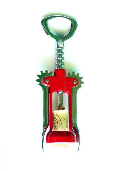 'Red Corkscrew' by Petros Vasiadis on artflakes.com as poster or art print $12.98