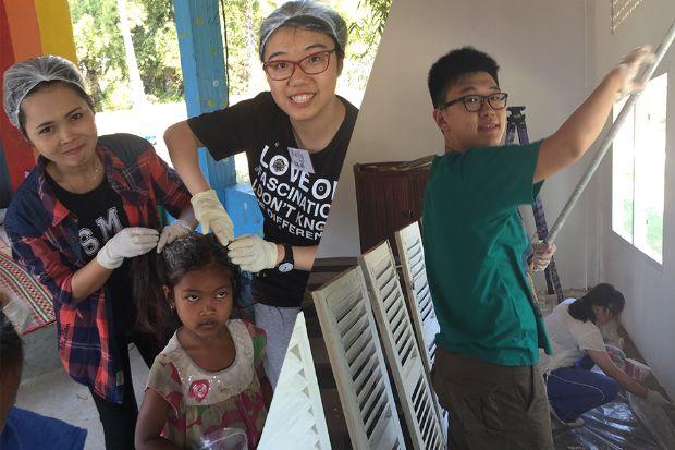 Trinity College students volunteer and raise money to help improve Cambodian | Meld Magazine