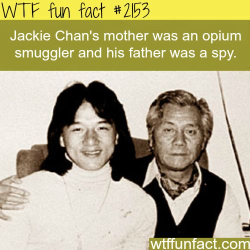 Jackie Chan's parents - WTF fun facts