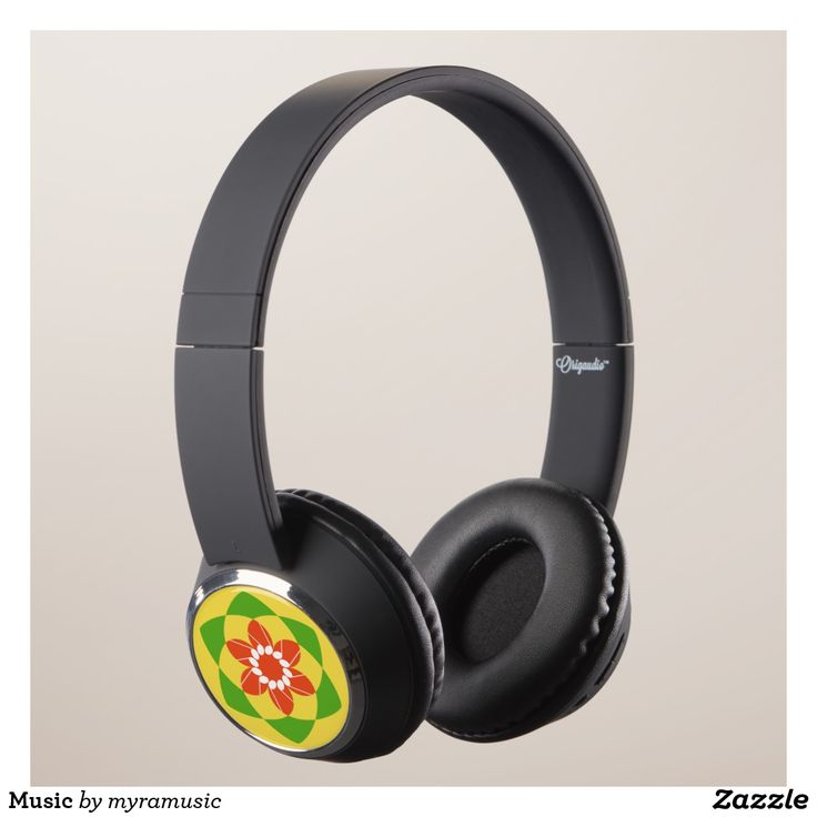 Music Headphones. Música, music. Producto disponible en tienda Zazzle. Tecnología. Product available in Zazzle store. Technology. Regalos, Gifts. #headphones #sound #music