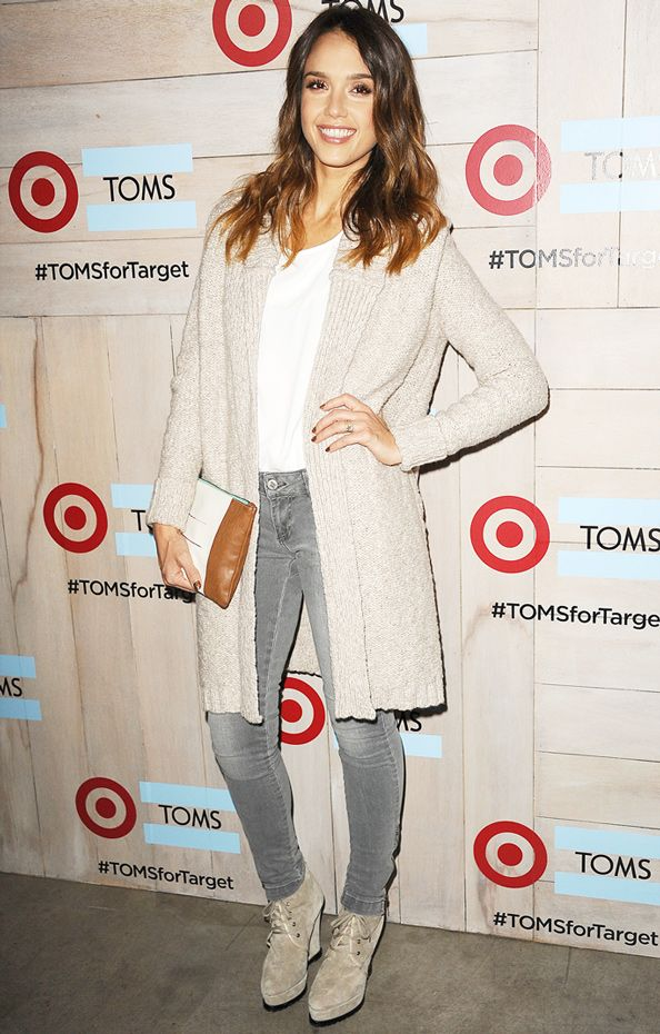 How to Style an Oversize Cardigan  #InStyle