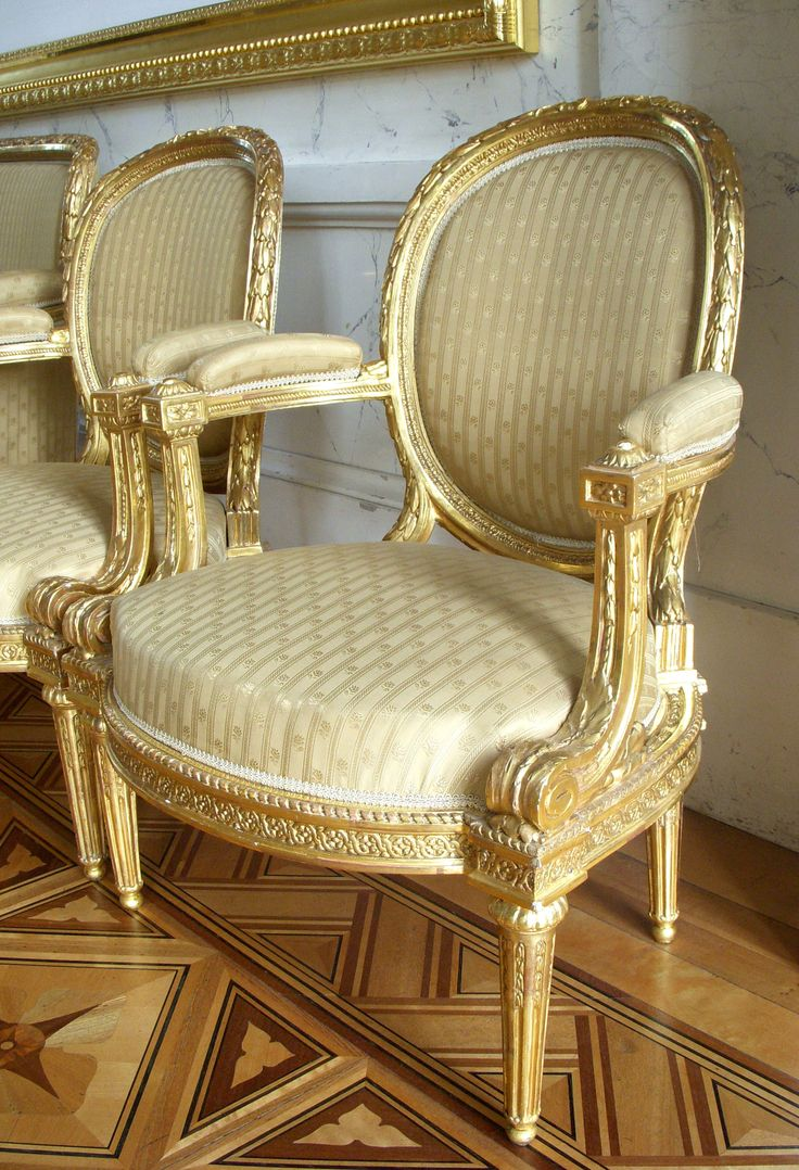 French classic chairs - Find This Pin And More On 18th C Chair By Louis Delanois