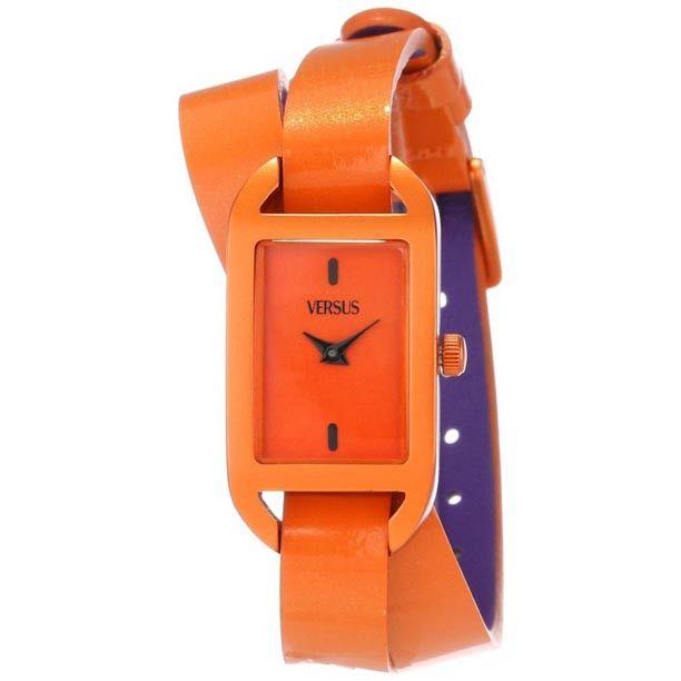 Versus by Versace Ibiza Orange Wrap Around Women's Watch SGQ02