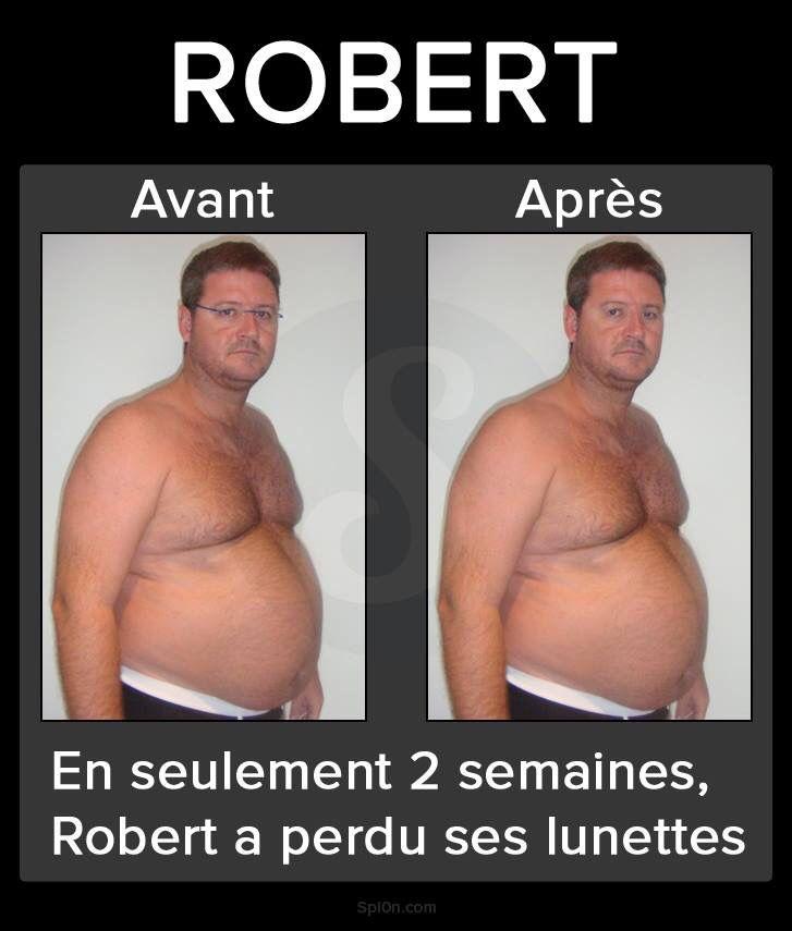 Robert AVANT/APRÈS