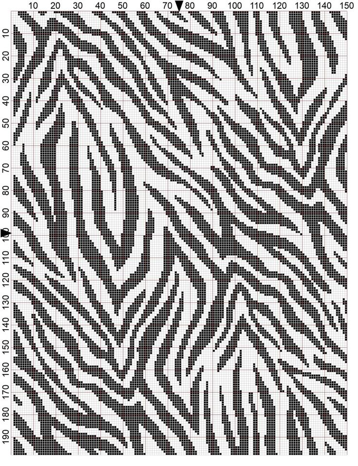 Zebra Afghan Knitting Pattern : Best images about tapestry crochet mochila bags on