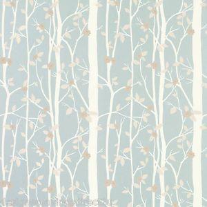 £21.99 | Laura Ashley Cottonwood Wallpaper in Duck Egg Blue x 1 Roll (W088332-A/2) NEW