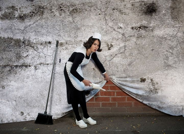 Real-Life Recreations of Banksy's Graffiti