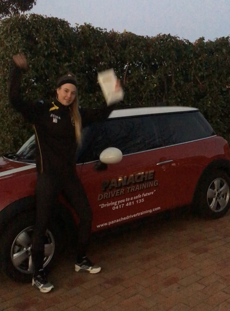We would like to say congratulations to May Bailey for passing her comp 22 (driving test) in our  F56 Mini Cooper, Great work see you on the Defensive driving course. :) http://www.panachedrivertraining.com/advanced-defensive-driving-course.html