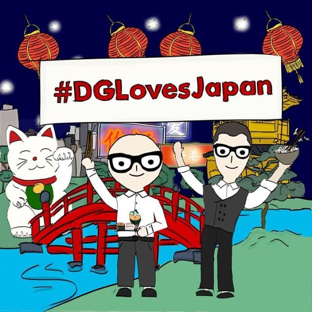 Dolce&Gabbana hit Tokyo. Stay tuned for something exceptional will happen. #DGLovesJapan ドメニコ ドルチェとステファノ ガッバーナがついに来日スペシャルなイベントをどうぞお楽しみに#DGラブジャパン  via DOLCE & GABBANA OFFICIAL INSTAGRAM - Celebrity  Fashion  Haute Couture  Advertising  Culture  Beauty  Editorial Photography  Magazine Covers  Supermodels  Runway Models