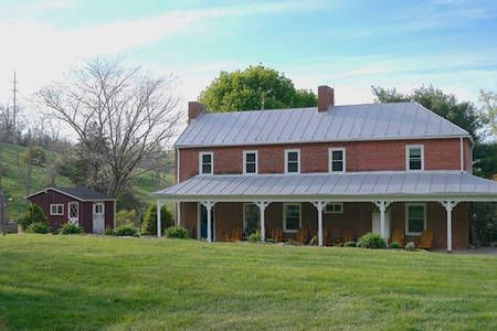 Check out this awesome listing on Airbnb: Modern 1850s Farmhouse near Lake - Houses for Rent in Luray