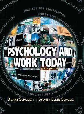 Organizational Psychology sydney uni foundation