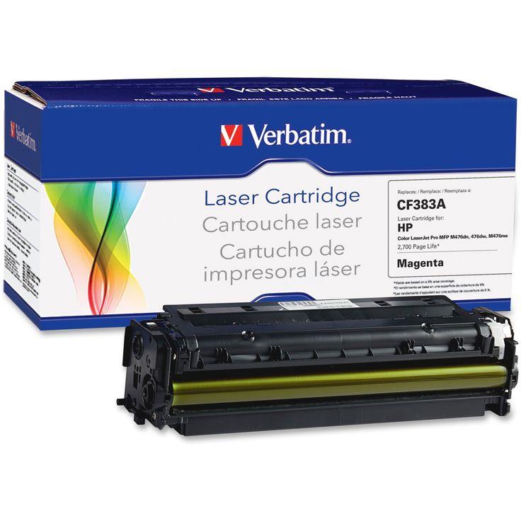 Verbatim Remanufactured Laser Toner Cartridge alternative for HP CF28, Pink #99398