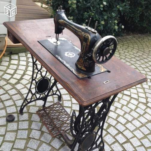 Ancienne machine coudre du style des singer collection for Machine a coudre kohler ancienne