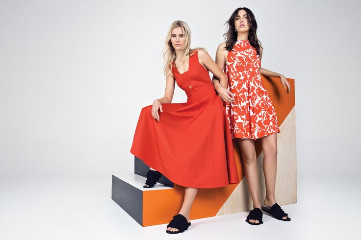 Cut Out Midi Dress, Printed Jumpsuit