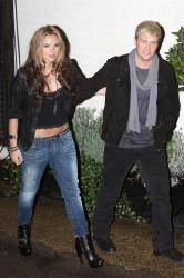 Jodi Albert and Kian Egan