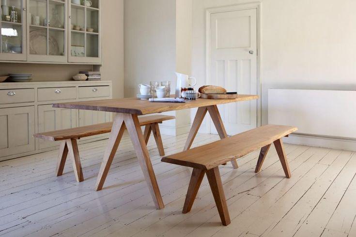 Kitchen Amish Solid Wood Corner Bench Seating
