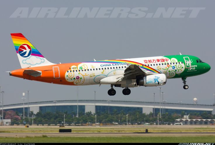 China Eastern Airlines B-6639 Airbus A320-232 aircraft picture