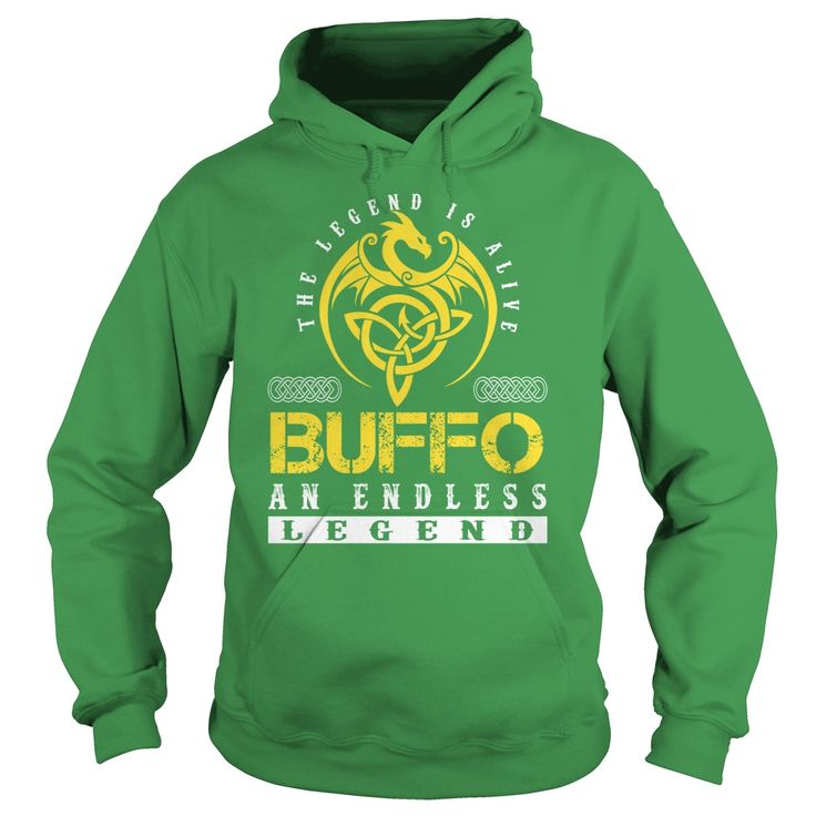 The Legend is Alive BUFFO An Endless Legend - Lastname Tshirts