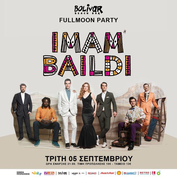 Οι Imam Baildi LIVE στο Bolivar στις 5 Σεπτεμβρίου!