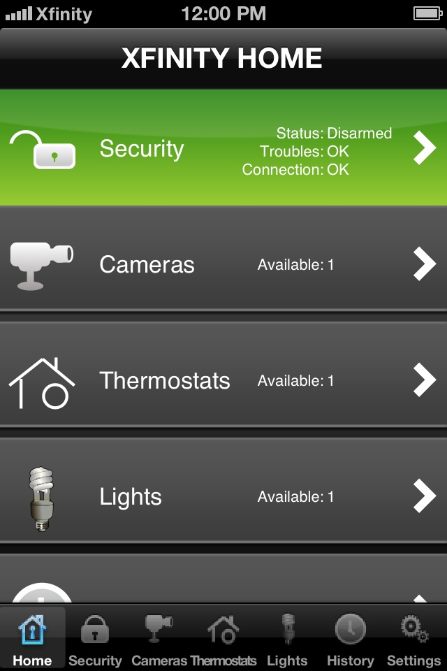 XFINITY Home Security (1,15 Mb) Home Security Mobile
