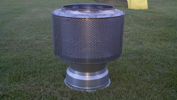 Washing Machine Tub And Rim Fire Pit Projects Diy