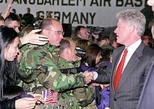 Clinton military base gun ban ~ Among Pres Clinton's first acts upon taking office in 1993 was to disarm U.S. soldiers on military bases. In March 1993, the Army imposed regulations forbidding military personnel from carrying their personal firearms and making it almost impossible for commanders to issue firearms to soldiers in the U.S. for personal protection. For the most part, only military police regularly carry firearms on base, and their presence is stretched thin by high demand for…