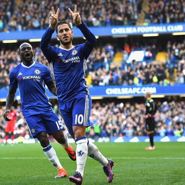PL matchday 8: Chelsea 3-0 Leicester city Costa's 7th goal of the season  Hazard's 3rd goal of the season Moses's 3rd goal of the season